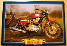 BSA A75 ROCKET 3 1968 CLASSIC VINTAGE MOTORCYCLE BIKE PICTURE 1960'S PRINT
