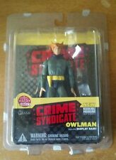DC Direct Crime Syndicate Owlman Action Figure Justice League JLA w Display Base
