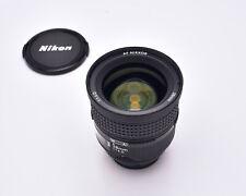 Rare Nikon AF NIKKOR 28mm f/1.4 D Lens with Caps FX Full Frame (#6069)
