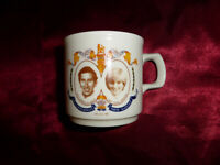 Vintage Prince Charles & Lady Diana Spencer CUP Royal Wedding 1981 Memorabilia