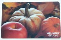 Walmart Gift Card Lenticular / 3D - Pumpkins, Apple / Fall  - No Value