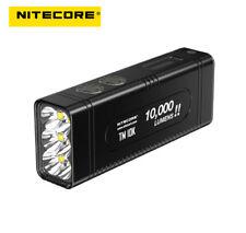 Nitecore TM10K 10000 Lumens 6x LED Flashlight Include 4800mAh Li-Ion Battery