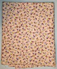 Over 2 Yrds Robert Kaufman Screen Print Autumn D4814 Leaves Quilting Fabric 44in