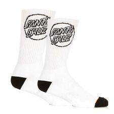 Calcetines/Sock- SANTA CRUZ SKATEBOARDS - OPUS DOT - BLANCOS/WHITE - ONE SIZE
