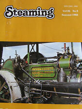 STEAMING MAGAZINE SUMMER 1983 #26 No3 NATIONAL TRACTION TRUST TRACTORS MARY LEA