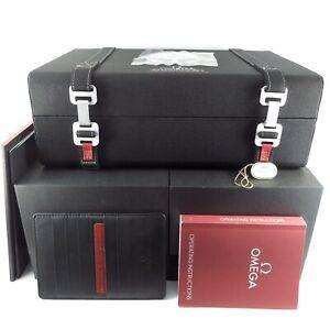 GENUINE OMEGA WATCH BOX SPEEDMASTER LEGENDARY MOONWATCH LIMITED EDITION
