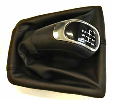 >> SKODA SUPERB II 08-15 GEAR SHIFT STICK KNOB 6 SPEED BLACK 3T0711113 <<