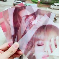 5PCS Kpop BLACKPINK Offizielle Fotokarten LISA JISOO JENNIE ROSE Karten ogzlx