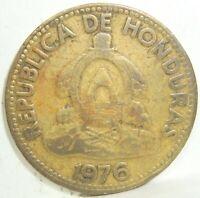1976 HONDURAS 10 TEN DIEZ CENTAVOS DE LEMPIRA NICE COIN