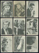 1964 Donruss Selmur Productions Combat Cards 50 Diff Vic Morrow Part Set (48042)