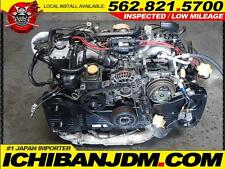 JDM SUBARU EJ20 TURBO 92 94 95 96 97 98 IMPREZA MOTOR WRX GC8 GF8 NON STI 2.0L