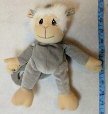 Enesco Precious Moments Tender Tails Beanbag Plush Gray Capuchin Monkey 1998