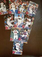 2018 Braves National Baseball Card Day Sets - SGA 7/29 10 card set w/ Chipper