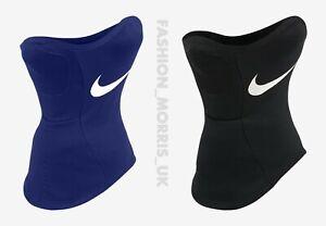 Nike unisex Strike Fit Squad Snood Neck Warmer Hyper warm Football BK/Blue/White