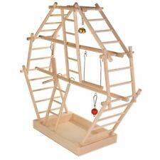 TRIXIE Aire de jeux pour oiseaux animaux de compagnie 44x44x16 cm Bois