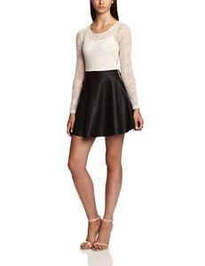 Motel Strawberry Tunic Women's Dress Cream/Black Medium - Brand new