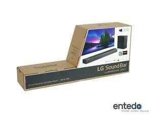 LG DSN7Y 3.1.2 Atmos Soundbar mit Wireless Aktiv Subwoofer Lautsprecher 4K HDMI