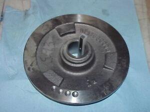 Hardinge Made Bridgeport Variable Speed Pulley w/ Plastic & Metal Key BP11550006