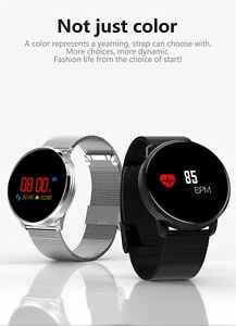 Bluetooth Smart Watch Bracelet Wristband Band Waterproof Heart Blood Presure Oxy