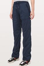 LULULEMON Blue Long Dance Studio Pants. Size 2 Regular. Excellent Condition.