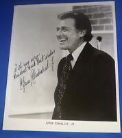 EFREM ZIMBALIST JR. dec 2014 signed autographed 8 x 10 actor 77 Sunset Strip