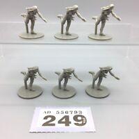 Prisión Brote de Cmon Zombicide Zombies Femenino Runners The Walking Dead X 6