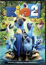 Rio 2 (DVD, 2014, Canadian) NEW