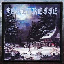 Forteresse - Les hivers de notre époque | Printed Patch | Black Metal