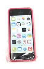 Pink iPhone 5C SlimGrip Hybrid Bumper Case Clear Back Cover