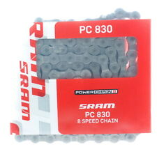 SRAM PC-830 8 Speed Chain 114 Links With PowerLink Silver