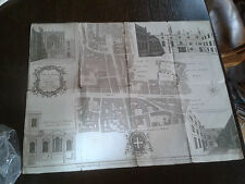 Genuine antique map,1755,Cheap Ward,city of London,England,Unite Kingdom
