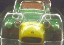 "LOTUS 7 CATERHAM 3.25"" SCALE MODEL Lotus Seven 7 LHD BROWN GREEN YELLOW LOTUS-7"