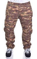 Ecko Unltd. Men's Tiger Camo Print Slim Fit Cargo Pants Choose Size