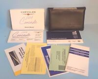 04 2004 Chrysler Concorde owners manual