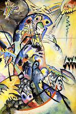 Russian Art Mural Decor Colorful Travertine Tile #680