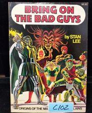 Bring on the Bad Guys: Origins of Marvel Comics Villains, Stan Lee (lot C102)