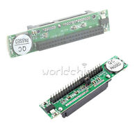 """44Pin 2.5"""" IDE HDD Drive Male/Female to 7+15pin M/F SATA Adapter Converter Card"""
