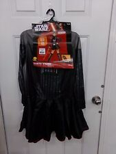 Womens Size Medium Star Wars Darth Vader Halloween Costume NEW
