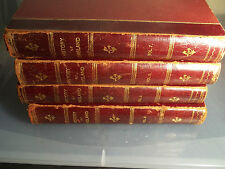 """Cassell's History Of England """"The Kings Edition """" 1910 vols 6,7,8, and 9"""
