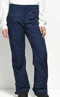 Roxy Backyard Ski Snowboarding Pants Trousers Womens Size UK 10 Navy *Ref107