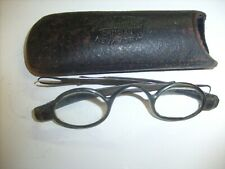 Olmsted Eyeglasses Spectacles Extendable Arms + New York Le Alexander Case