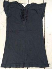 Robe Tunique en laine noire sans manches KIDKANAÏ Taille 4 ans / 104 cm