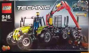 Lego Holztransporter 8049 mit OVP und Bauanleitungen