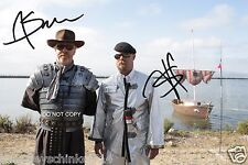 Myth Busters TV Show 8x10 Reprint Signed Photo #3 RP Jamie Hyneman & Adam Savage