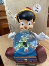 Disney parks Snow globe Pinnochio Musical