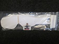 100 pack Tear Offs to fit Oakley O frame 2000 adult motocross mx goggles TO1015