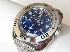 RUSSIAN Military WATCH VOSTOK AMPHIBIA AUT AMPHIBIAN DIVER 710289 NAVY SUBMARINE