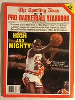 The Sporting News 1987-88 Pro Basketball Yearbook (Rare Jordan Cover)
