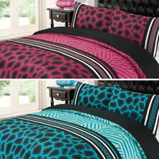 Animal Print Striped Bedding Sets & Duvet Covers