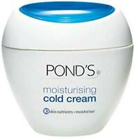 Pond's Moisturizing Cold Cream - Winter Care Face Skin Soft Smooth - F/Shipping